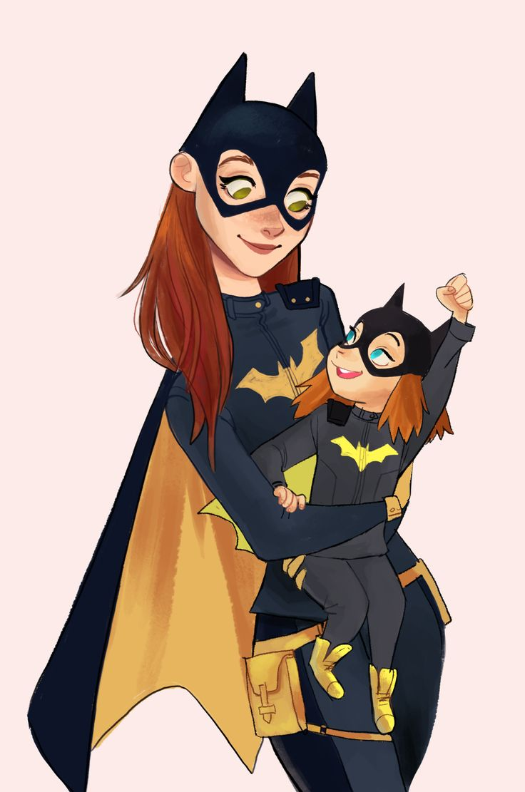 This design is so gorgeous, I've been wanting to draw it for such a long time. It's inspiring so many girls and I'm so excited for that. So here's Barbara Gordon with a tiny Batgirl fan