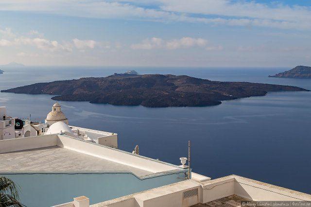 Остров Санторини. Греция