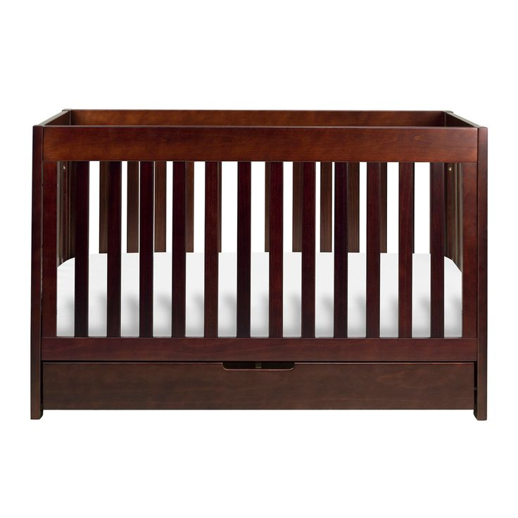 This Modern Crib Features An Extra Drawer To Store Babys Essentials Converts A Daybed And Toddler Bed With