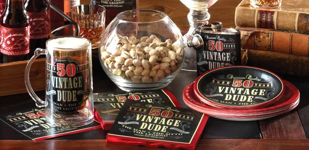Decorazioni Compleanno Vintage su VegaooParty