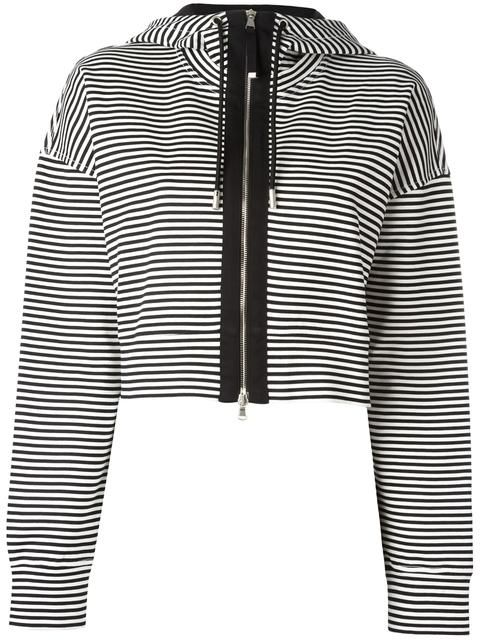 DIESEL striped zipped cardigan. #diesel #cloth #cardigan