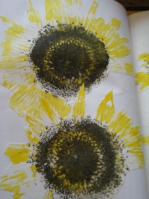 Bjørnemor...: Sunflowerstamp...