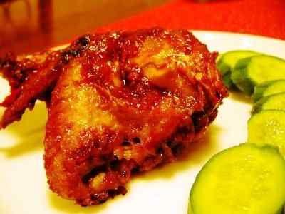 Ayam Bakar Madu - Rahasia cara membuat resep ayam bakar madu atau kalasan bumbu kecap pedas manis bango ncc ala restoran padang taliwang jawa lumajang wong solo paling enak.