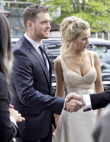 Michael Bublé and Luisana Lopilato celebrated their nuptials for the third time in Vancouver last May.