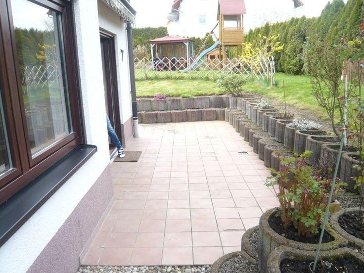 Leimen: Schöne, großzügige u. helle 2 ZKB-Gartengeschoßwohnung 70 m² mit EBK, Terrasse u. Stellpl. 450 km