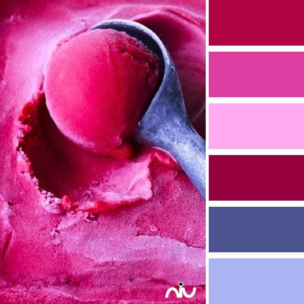 Farb-und Stilberatung mit www.farben-reich.com - Magenta Ice Cream (food  drink)