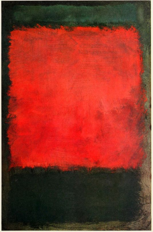 Daily Rothko: Untitled, 1959, Acrylic on canvas, Collection of Mary Alice Rothko