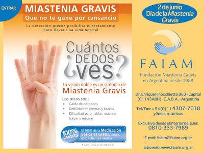 PUEBLA REVISTA: Día de la persona enferma de miastenia gravis