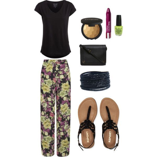 Senza titolo #509 by ninacrystina on Polyvore featuring Pieces, Love, Aéropostale, Jérôme Dreyfuss, Wet Seal, Gorgeous Cosmetics, Clinique and OPI
