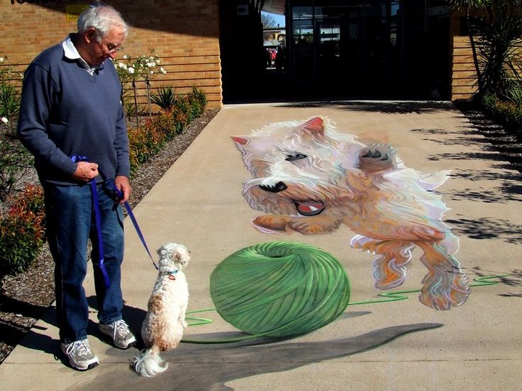 chalk art | 3D Chalk Art, Pavement Art | Zest Events International
