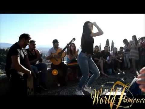 """Flamenco NUEVO 2017 (Gitana Bailando con mucho arte) y GYPSY""""fenomenos""""-..."""