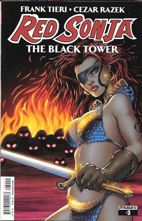 Red Sonja : The Black Tower # 3 Dynamite Entertainment