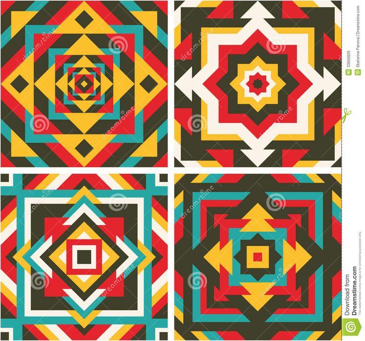 mosaic patterns geometric - Google Search