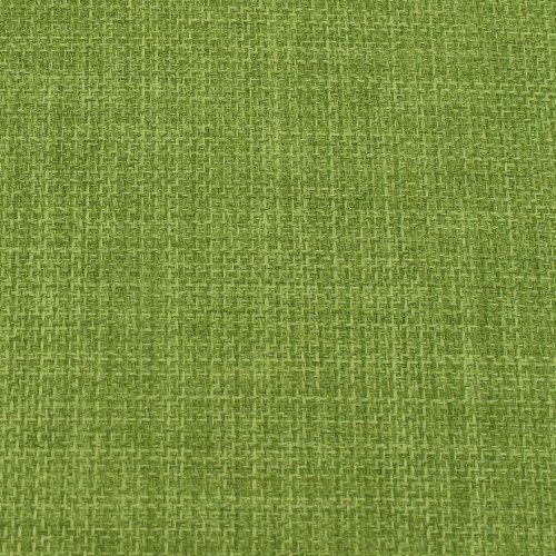 Lime Green Soft Plain Linen Look Home Essential Designer