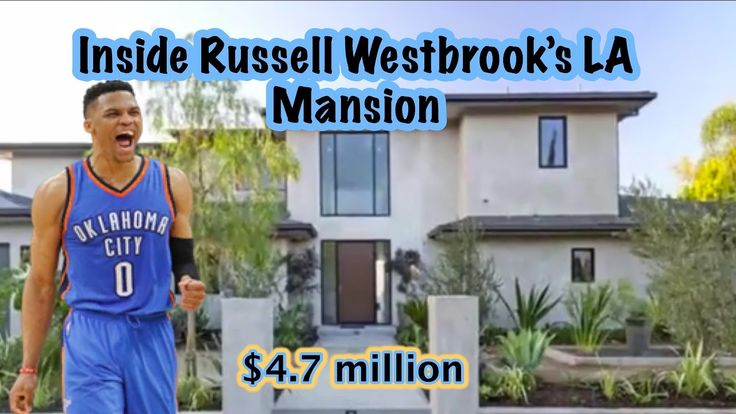 Russell Westbrook's HOUSE in Los Angeles - Tour This NBA Player Home