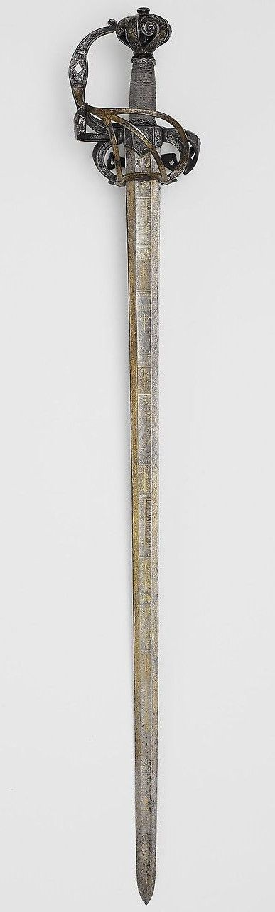 Arming Sword. Dated: circa 1610-20. Culture: German and English.