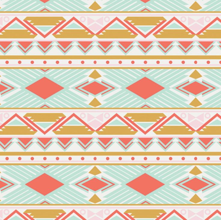 Tribal Study in Aura ~ Anna Elise Collection by Bari J for Art Gallery Fabric ~ Weave & Woven by WeaveandWoven on Etsy