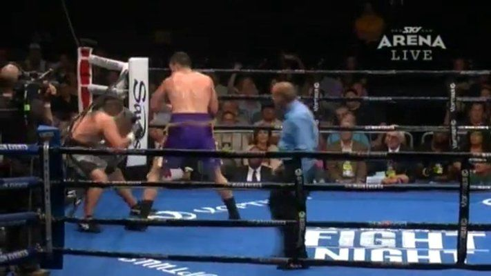 Joseph Parker Rocks His Opponent With A Heavy Dose Of Brutal Punches!