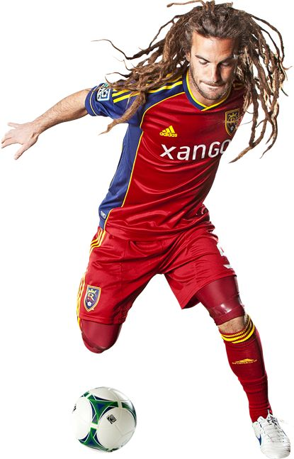 Kyle Beckerman - athelete with some awesome dreadlocks