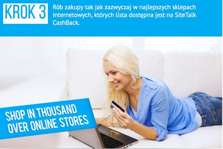 Rób zakupy w najlepszych, ulubionych sklepach