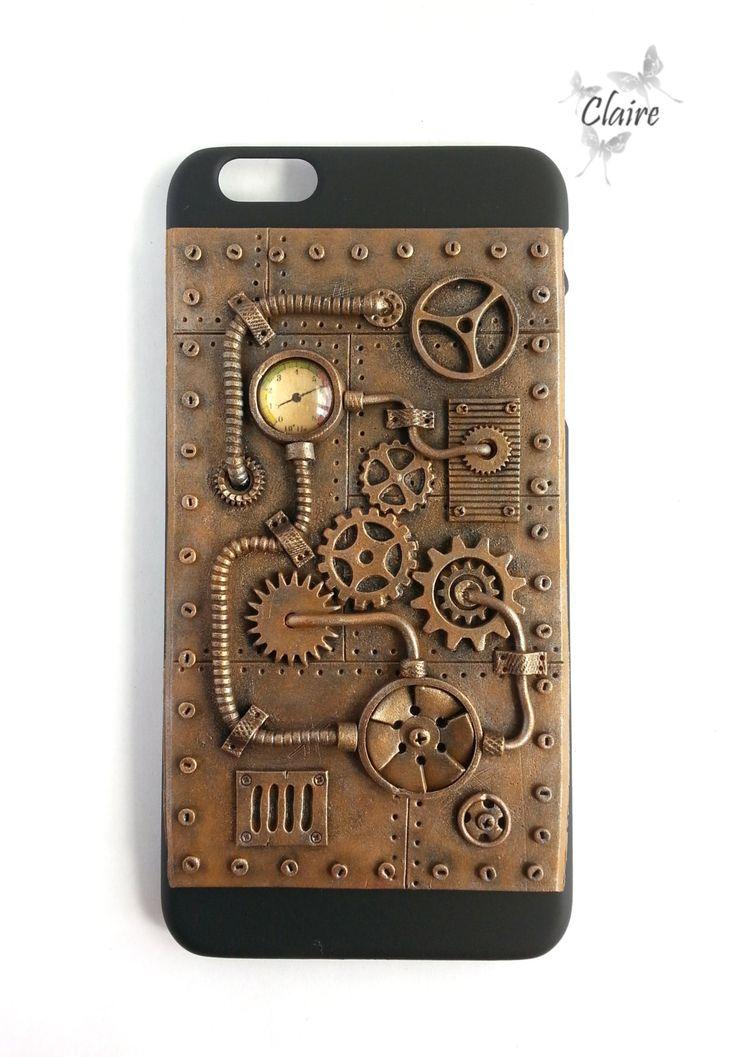 Steampunk iPhone 6 PLUS Case Steampunk Phone Case iPhone ...
