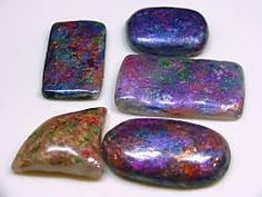 FREE TUTORIAL: Faux Australian Opals made from polymer clay.