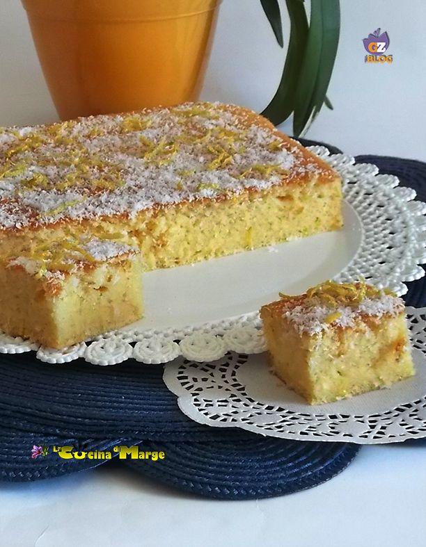 DELIZIA AL COCCO PROFUMATA AL LIMONE, una torta sublime unica si scioglie in bocca.Bella umida molto simile alla torta magica .Adoro il cocco e questa torta