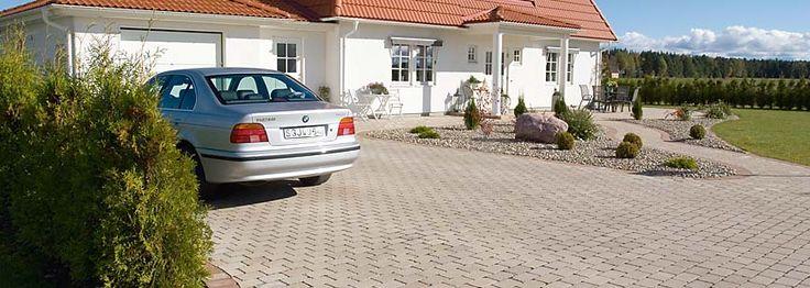 stone in driveway