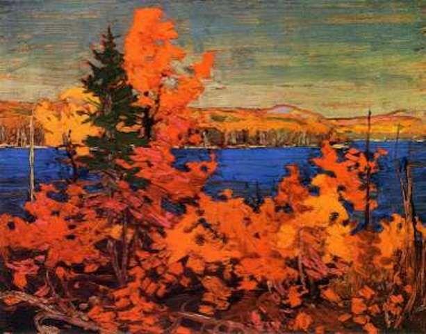 Tom Thomson Autumn Foliage