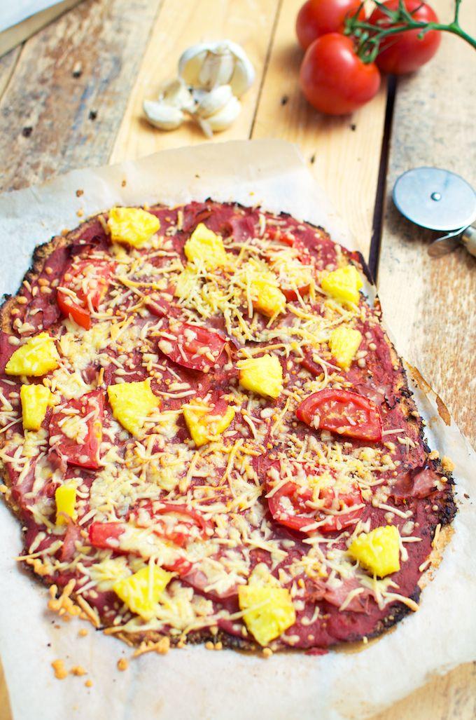 bloemkool pizza,
