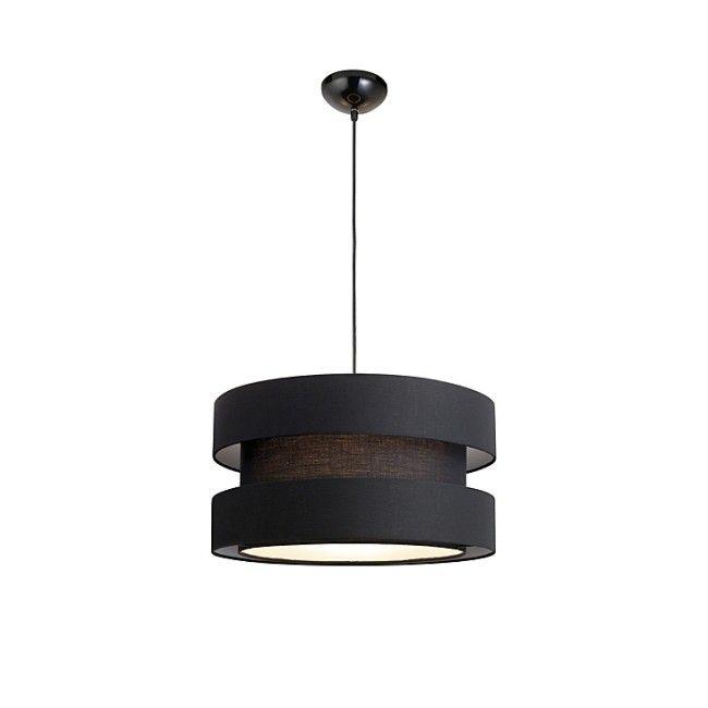 Lampa wisząca Colours Moka 1 x 60 W E27 czarna