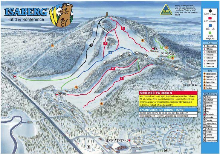 ❄ Updated #Isaberg Piste Map. #skiing ❄ ➽ See high resolution at http://www.skiferietips.dk/sverige/isaberg/pistekort