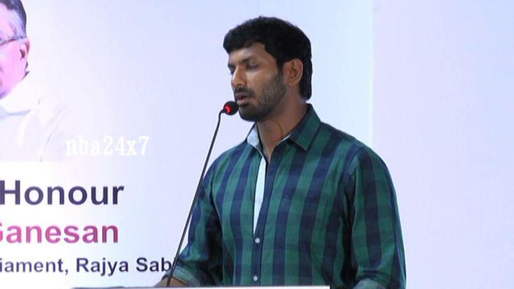 Actor Vishal on India's new Wattsapp,HowdyDo App