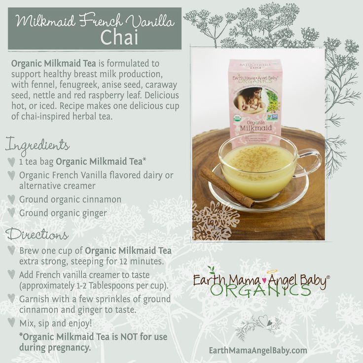 Milkmaid Tea: Certfied Organic Breastfeeding Tea