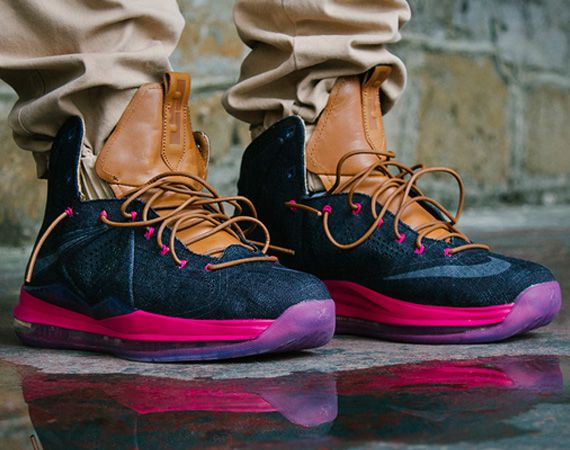 "Nike LeBron X EXT – ""Denim"""