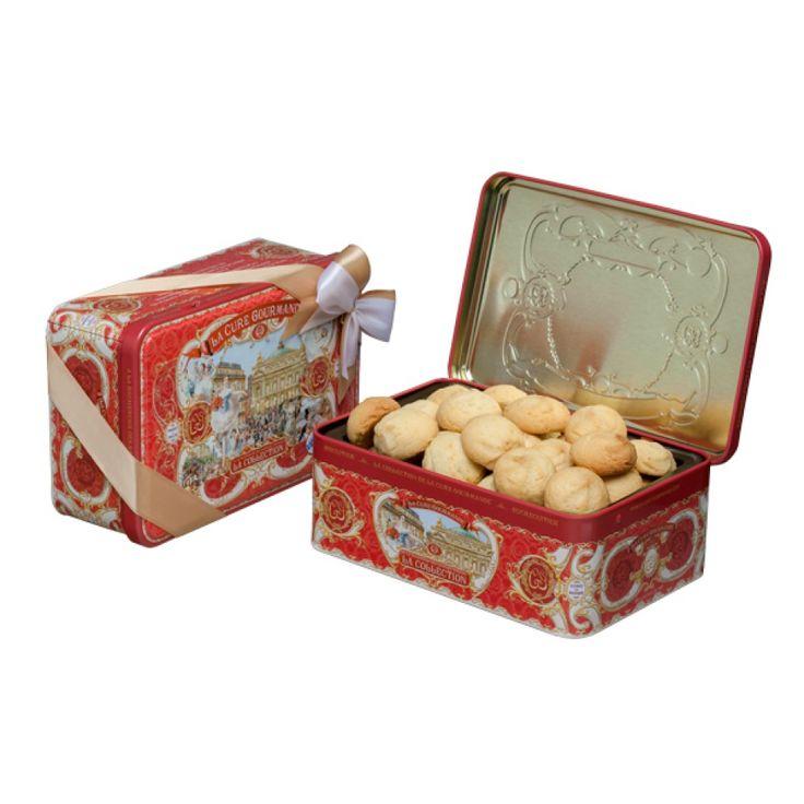 Boîte Biscuits Métal Chocolat| La Cure Gourmande