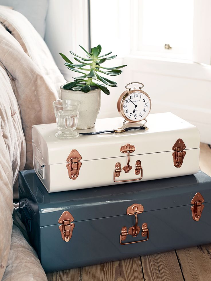 10 easy bedroom storage solutions. Declutter your bedroom, and make it clean, neat and tidy. Lots of ideas and inspirations for clever bedroom storage, from shoe storage to laundry, to making the most of bed space, under the bed and in it. Click through to find out more.