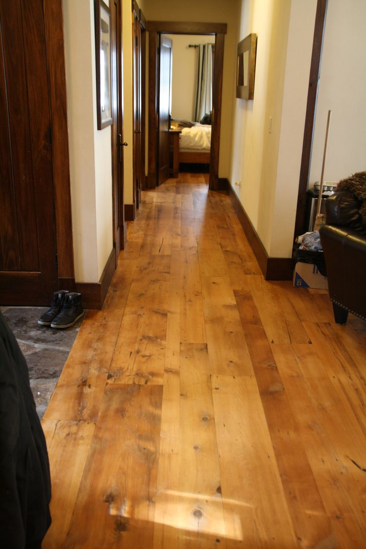 Refinished Hallway.... this hallway is the same hallway as the original hallway photo, you can see the foyer flagstone... this photo was taken from the stairs however, not towards it,... photo from Jan 21