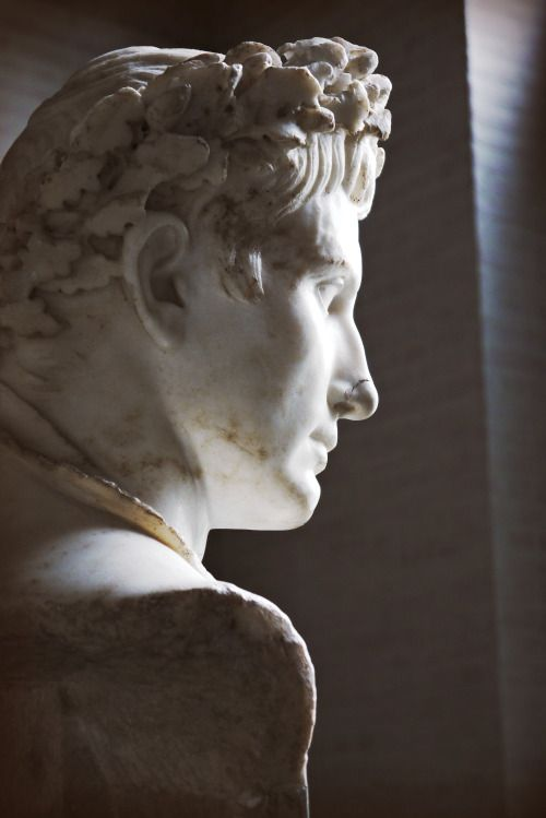 ganymedesrocks:  kararadaygum:  .. Augustus died this month 2000 years ago ..  as the one that fascinated me posted with this beautiful picture, January 10, 15 AD was indeed the date.: