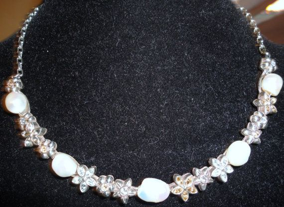 Vintage Pure Silver Brighton Jewelry  Necklace Choker by Treazurzs, $80.00