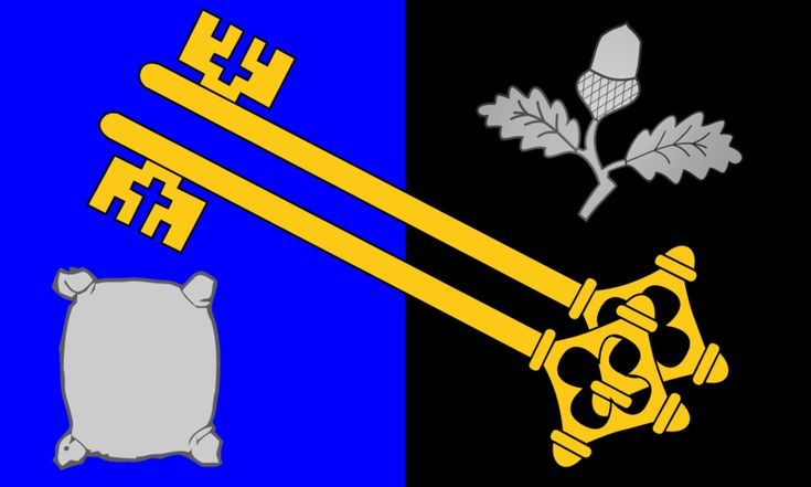 County flag of Surrey, UK