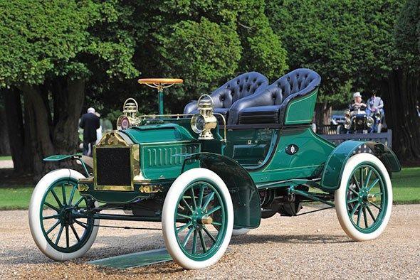 1904 oldsmobile model n french touring runabout for Motor cars lansing mi