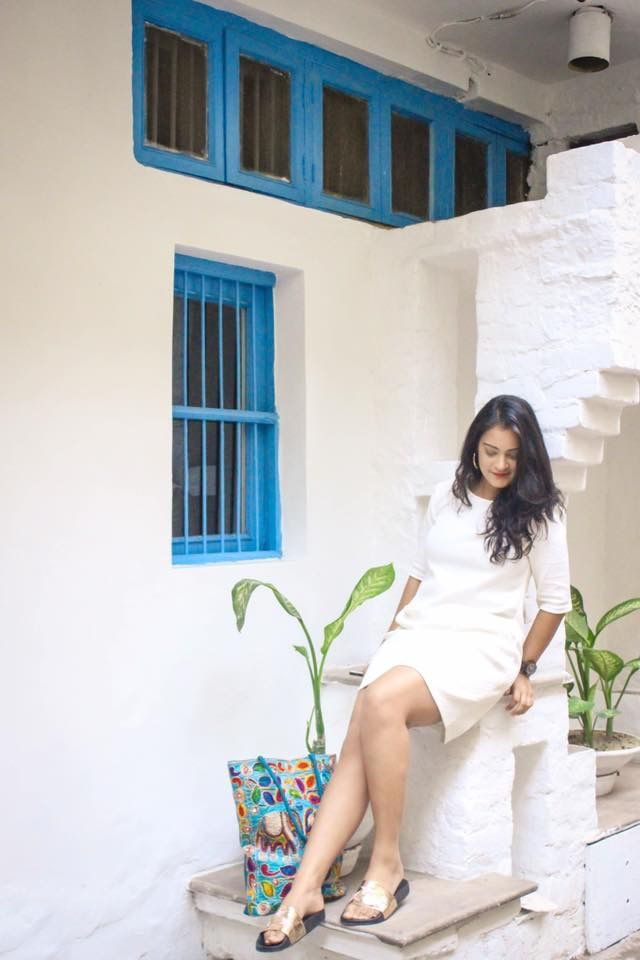 When you photograph people in white, you photograph their souls. Look for this #ootd on the blog now. (Www.Aarushijainblog.com)