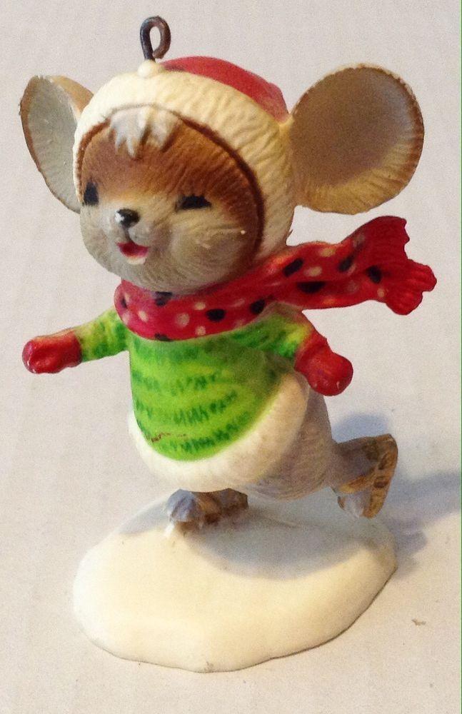 Vintage Skating Mouse Christmas Ornament | Collectibles, Holiday &  Seasonal, Christmas: Modern (1946-90) | eBay! - Vintage Skating Mouse Christmas Ornament Christmas Stuff To Buy