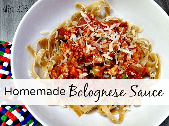 I'm losing my mind for this homemade bolognese sauce. - A Life From Scratch.  http://a-life-from-scratch.com/homemade-bolognese-sauce/