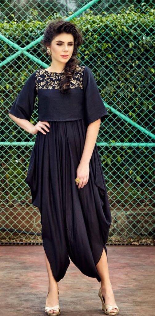 rashmi bagai  draped-cowled outfit