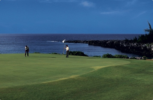 Maui Golf Resort: The Ritz-Carlton, Kapalua Golf Course...a day of couse where my score didn't matter...