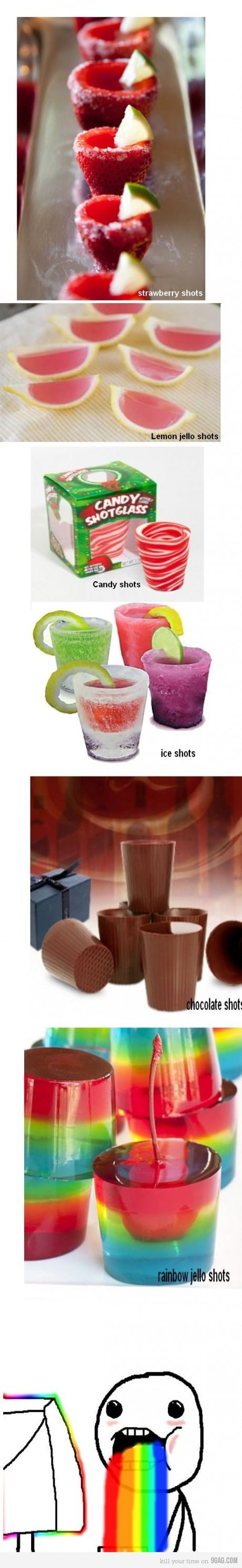 The rainbow shots look brilliant for with the girls :)