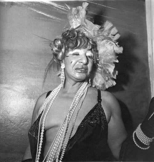 Diane Arbus  Transvestite at a drag ball, NYC  1970  FromDiane Arbus: An Aperture Monograph