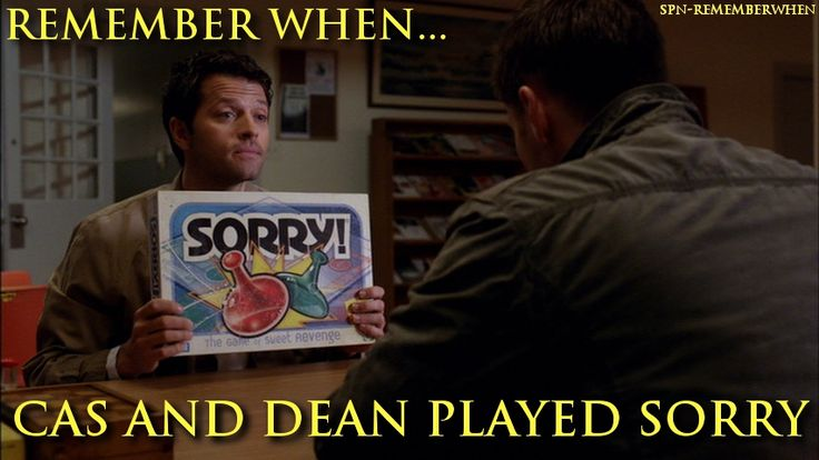 Supernatural Remember When...  #ReadingIsFundamental  7.21